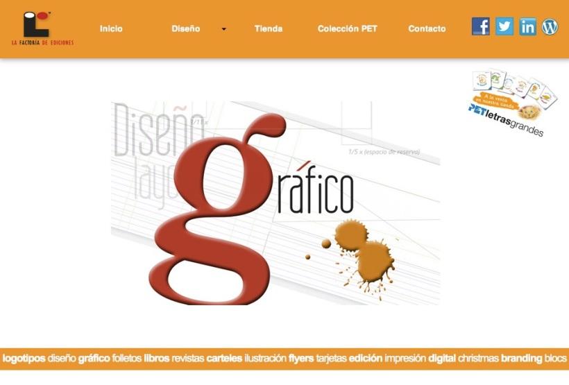 diseño grafica factoría de ediciones