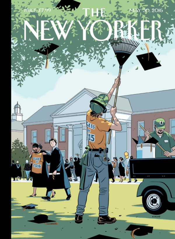 Portada The New Yorker Mayo 2016 la importancia de la comunicación corporativa