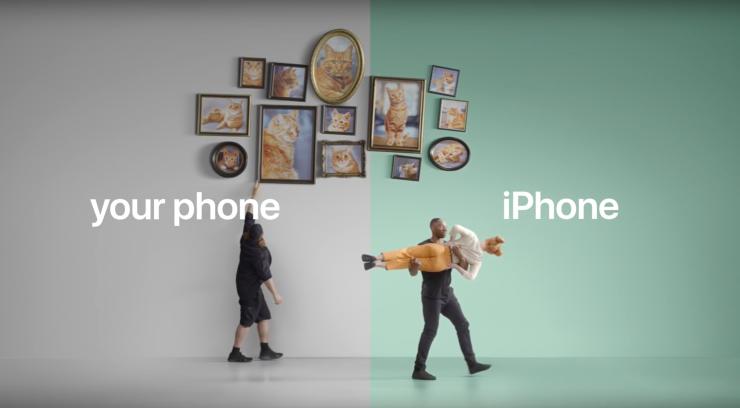 Campaña Publicitaria Apple de Android a iOS